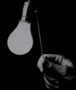 tända lampa